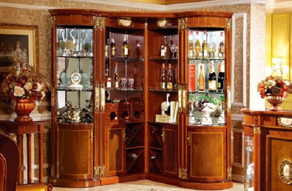 Tủ đựng rượu - Giải pháp trưng bày các chai rượu đẹp và quý